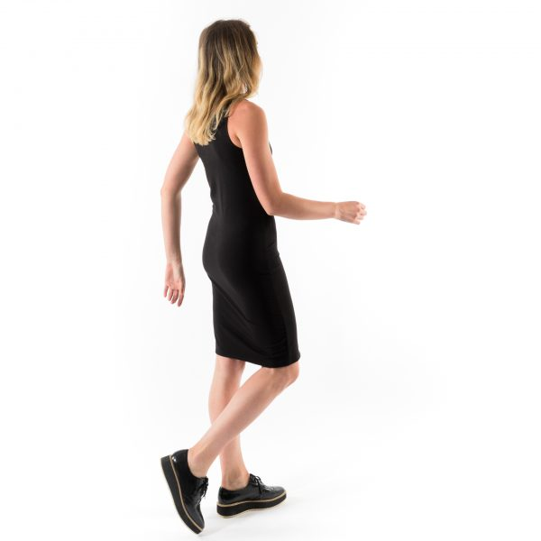 Kim Sassen Clothing Anna Dress Black Back Side