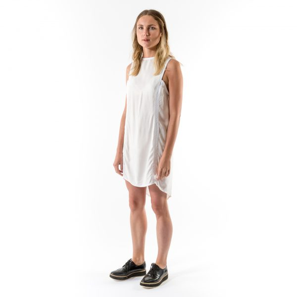 Kim Sassen Clothing Binding Dress White Front