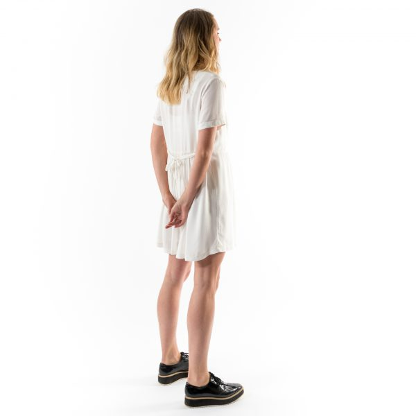 Kim Sassen Clothing Farm Girl Dress White Back Side Full