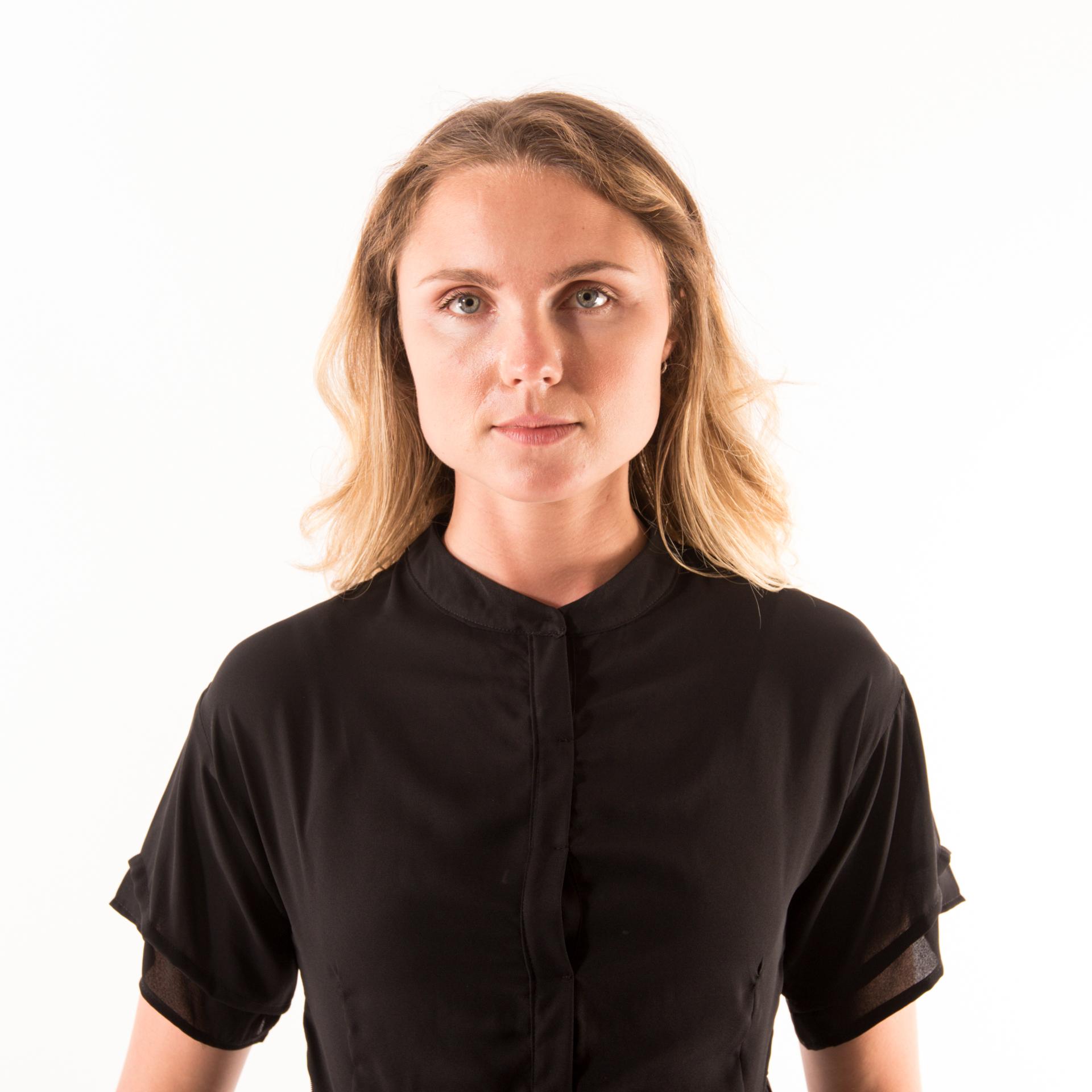 Kim Sassen Clothing George Dress Black Front Close