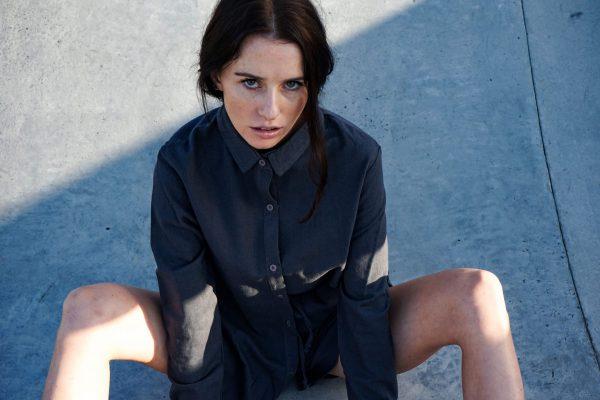 Kim Sassen Clothing Shirt Black Front