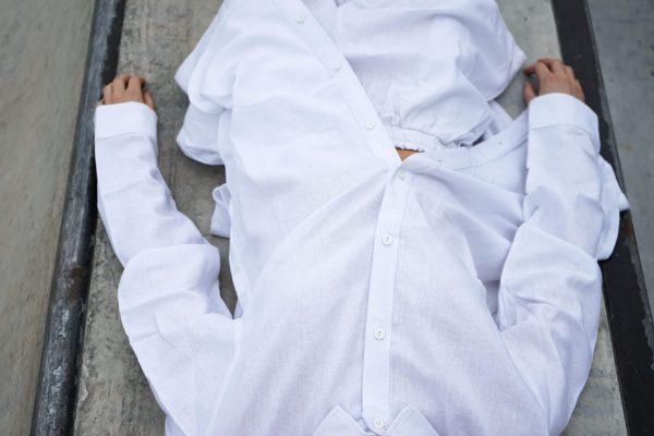 Kim Sassen Clothing Shirt White Front